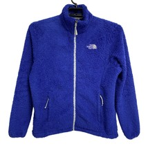 The North Face women's Osito jacket long sleeve zip front purple size L - $29.60
