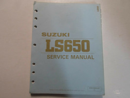 1987 1988 1990 Suzuki LS650 Service Reparatur Manuell Locker Blatt Worn ... - $42.56