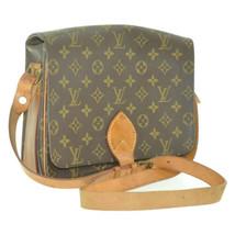 LOUIS VUITTON Monogram Cartouchiere GM Shoulder Bag M51252 LV Auth 12142 - $320.00