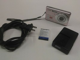 Casio EXILIM EX-Z77 7.2MP Digital Camera - Pink 3x Zoom Tested Working - Battery - $39.99