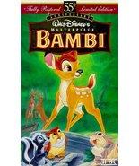 Bambi (Walt Disney's Masterpiece) [VHS] [VHS Tape] - $13.20