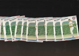 1988 Fleer Ryne Sandberg Cubs #431 Lot of 11 - $2.09