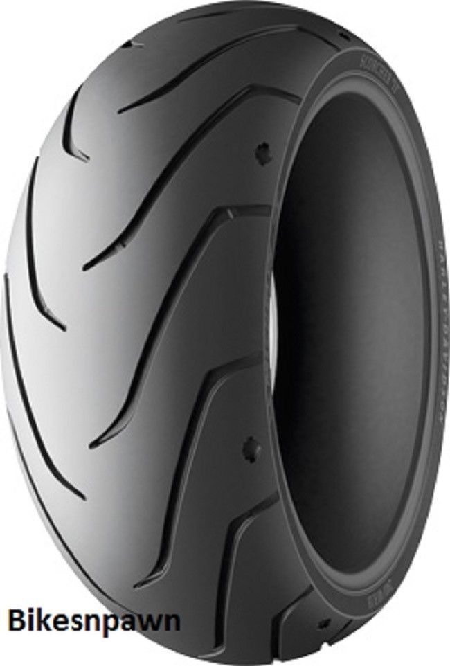 New 180/55-ZR17 Michelin Scorcher 11 Harley Davidson Rear Tire 78W Motorcycle