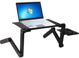 Laptop Desk Computer Table Stand Notebook Portable Foldable Adjustable B... - $39.28
