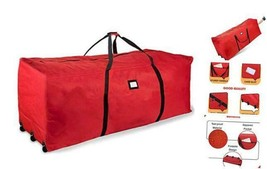 Holiday Rolling Tree Storage Bag, Extra Large Heavy Duty Storage Contain... - $44.07