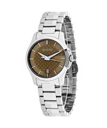 Gucci YA126526 Brown Dial Stainless Steel Strap Ladies Watch - $469.99