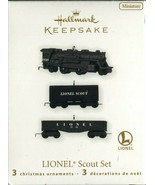 2010 New in Box - Hallmark Keepsake Christmas Ornament - Lionel Scout Set - $13.85