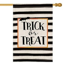 AVOIN Trick or Treat House Flag Vertical Double Sized, (House Size-28 x ... - $30.68