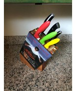 Vintage Book Knife Block - Hand Made - $250.00