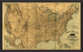 Artwork Map of the United States BCBL New SC-761 FREE - $1,799.00