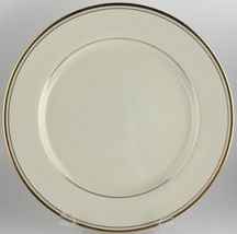 Fitz & Floyd Palais Buff luncheon plate (9 available)(SKU EC 05/02)FREE SHIPPING - $20.00