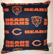 Bears Pillow NFL Pillow Chicago Bears Pillow HANDMADE USA - $9.97