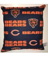 Bears Pillow NFL Pillow Chicago Bears Pillow HANDMADE USA - $9.97