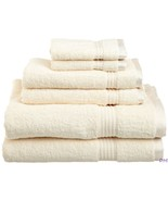 6-pc Ivory Superior 600 GSM Combed Cotton Towel, Hand Towel, Washcloth Set - $49.45