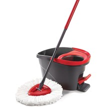 Spin Mop and Bucket System OCedar built In Wringer With Deep Cleaning Mi... - $53.45