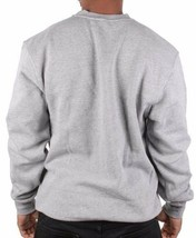 L-R-G LRG Heather Grey Joint Chiefs of Staff Crewneck Sweatshirt Weed Marijuana image 2