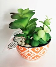 Potted Faux Cactus Plant - Perfect small decor! image 2