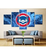 Chicago Cubs Wall Art Painting On Canvas Baseball Sports Poster Print HD - $74.95+