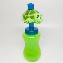Bobble Head Water Bottle-Turtle With Freezer Stick - $6.95