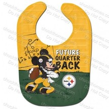 Pittsburgh Steelers Football NEW Disney Mickey Mouse AND Terrible Towel Bibs - $16.95