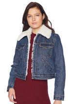 Levi's Women's Button Up Sherpa Lined Styled Denim Jean Trucker Jacket 578940000