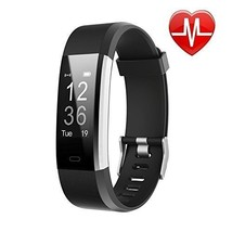 LETSCOM Fitness Tracker HR, Activity Tracker Watch with Heart Rate Monitor - $43.97