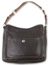 Coach Chelsea Womens Brown Pebbled Leather Shoulder Bag Purse D0872-F12338  - $38.30