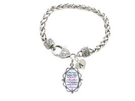 Custom Only Thing Better Than Mother Children Memaw Silver Bracelet Jewe... - $15.04+