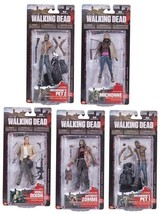 McFarlane Walking Dead Series 3 Complete Set of 5 Action Figures New - $215.05