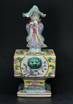 Chinese antique republic period incense burner - 7 inches tall - - $247.49