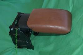 08-14 Audi A5 Sliding Leather Armrest Center Console Lid Cover image 2