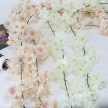 Flone Wedding Decoration Artificial Silk Flower Vine Flower Rattan Artif... - $8.85
