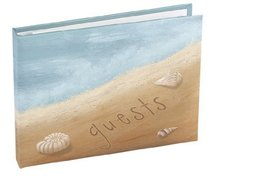 Hortense B. Hewitt Wedding Accessories Beach Guest Book, Seaside Jewels - $22.28