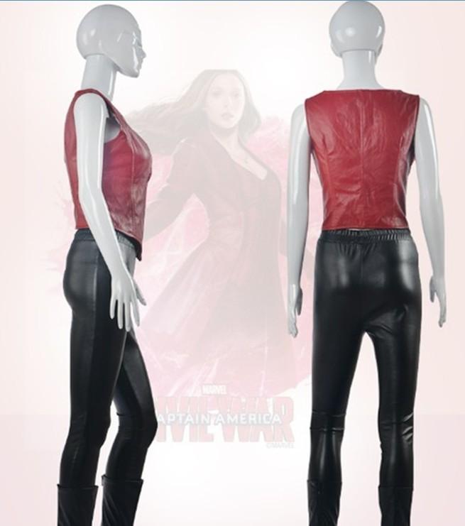 Captain America 3 Civil War Black Widow Costume Natasha Romanoff Cosplay Costume