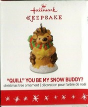 "2016 - New in Box - Hallmark Keepsake Ornament Miniature ""Quill"" You Be ... - $2.47"