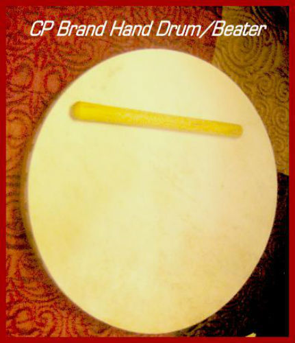 CP BRAND HAND DRUMS - SET OF THREE WITH BEATER - NEW 2018 STOCK - SUPERB QUALITY