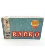 Vintage 1961 Milton Bradley Company Racko Rack-O Board Game MB Made in USA - £28.16 GBP