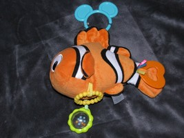 KIDS PREFERRED DISNEY BABY FINDING NEMO ORANGE CLOWNFISH CLOWN FISH RING... - $17.81