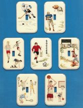 7 Cross Stitch Sports Light Switch Plate Cover Hockey Soccer Basketball ... - $13.99