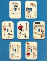 7 Cross Stitch Sports Light Switch Plate Cover Hockey Soccer Basketball ... - $13.99