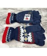 2020 Miller Lite Ugly Christmas Sweater Fingerless Gloves Mittens - BRAN... - $35.59