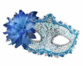 PANDA SUPERSTORE Bradde Chain Lilies Mask Halloween Party Mask Masquerade Mask(B