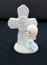 "Precious Moments Figurine ""Love Blooms Eternal"" Cross #127019 - 1994 Ene... - $12.82"