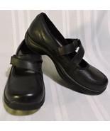 NWOB Dansko Clogs womens size 8 BLACK leather shoes NEW EU 39 work comfort - $79.80