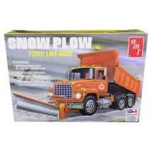 Skill 3 Model Kit Ford LNT-8000 Snow Plow Truck 1/25 Scale Model by AMT ... - $55.99