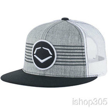 Evoshield Throwback Patch Casquette Snapback Baseball Gris/Blanc 1037330 - $27.03