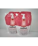 2 Method Foaming Hand Soap Refill Pink Grapefruit Scent 28oz Each - $24.97