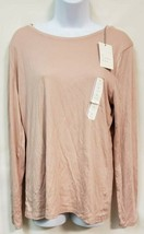 a new day Rose Colored Long Sleeve Casual Top Size XL NWT - $9.90