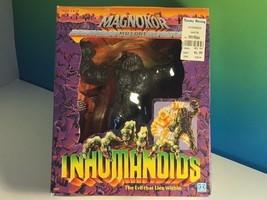 VINTAGE INHUMANOIDS ACTION FIGURE NIB BOX HASBRO 1986 MAGNOKOR GRAY EVIL... - $178.20