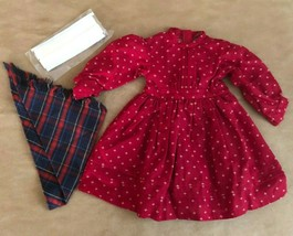 Pleasant Company Kirsten School dress with shawl American Girl outfit re... - $64.50